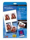Глянцевые Фотокарточки Quick&Clean, 4 фото на А6, 3,5*4,5 см, 220г/м2, 10 листов,  Avery Zweckform
